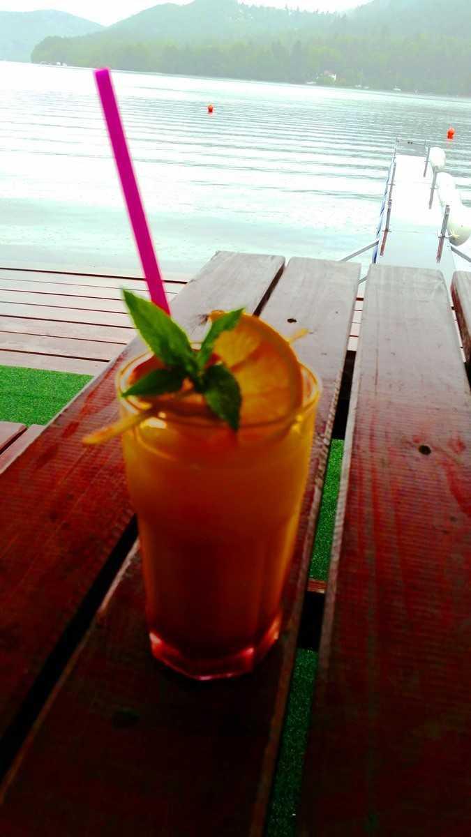 Bar Slapy Marine míchané nápoje