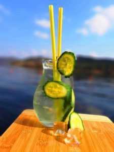 Okurkova limonada Slapy Marine