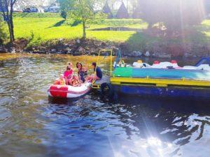 půjčovna nástup na člun